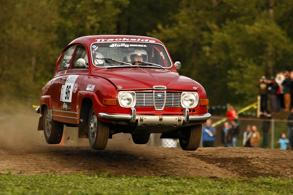 Classic Saab wins hearts at Oregon Trail Rally - East of Sweden - Saab Volvo Subaru Service and ...